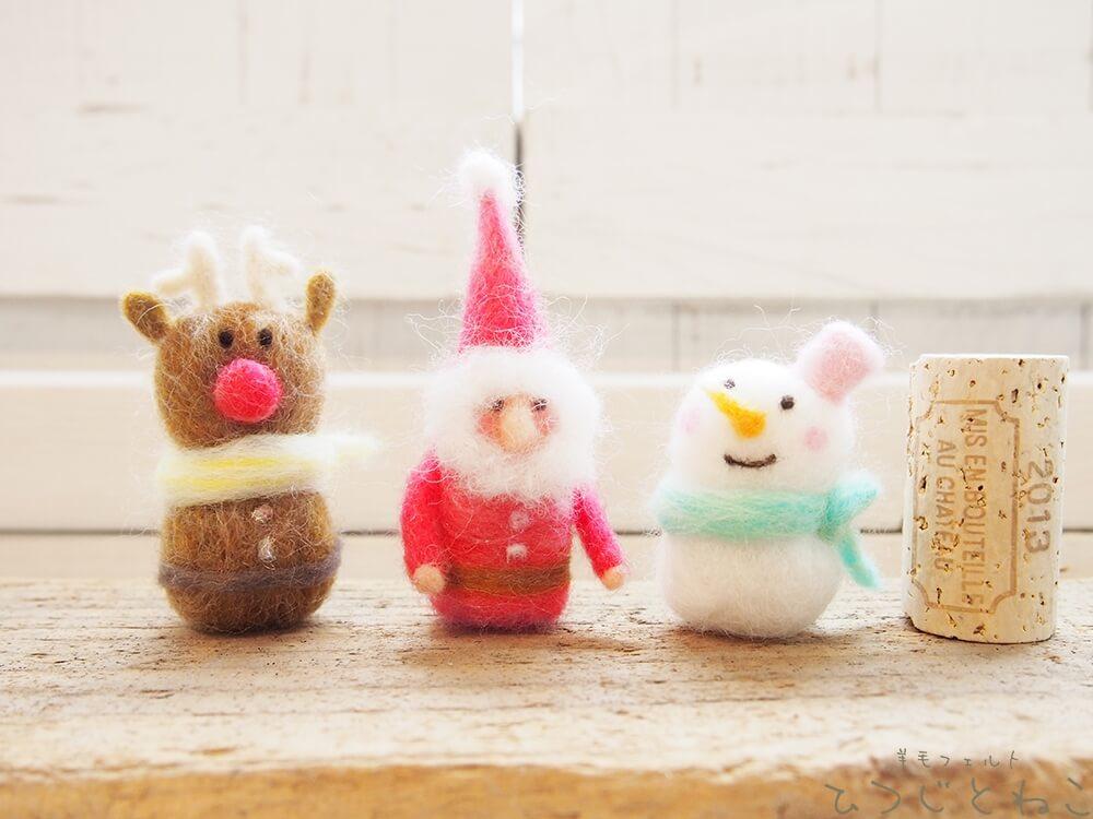 クリスマスのマスコット