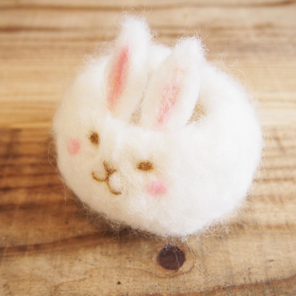 ウサギのトレイ