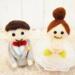 結婚式のお人形