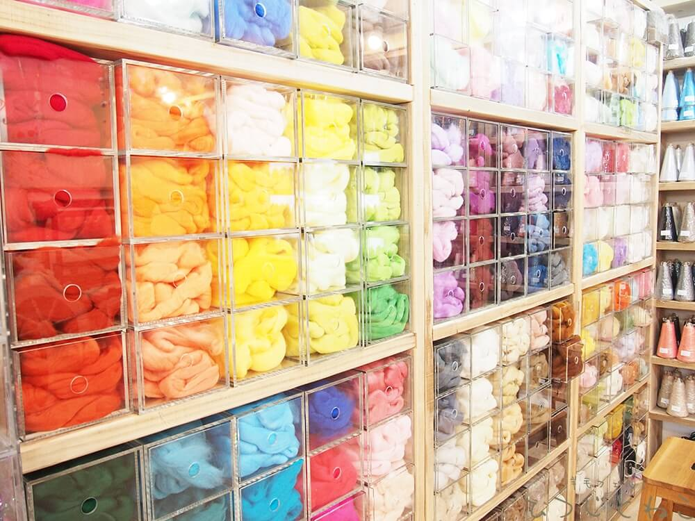 羊毛フェルトの種類