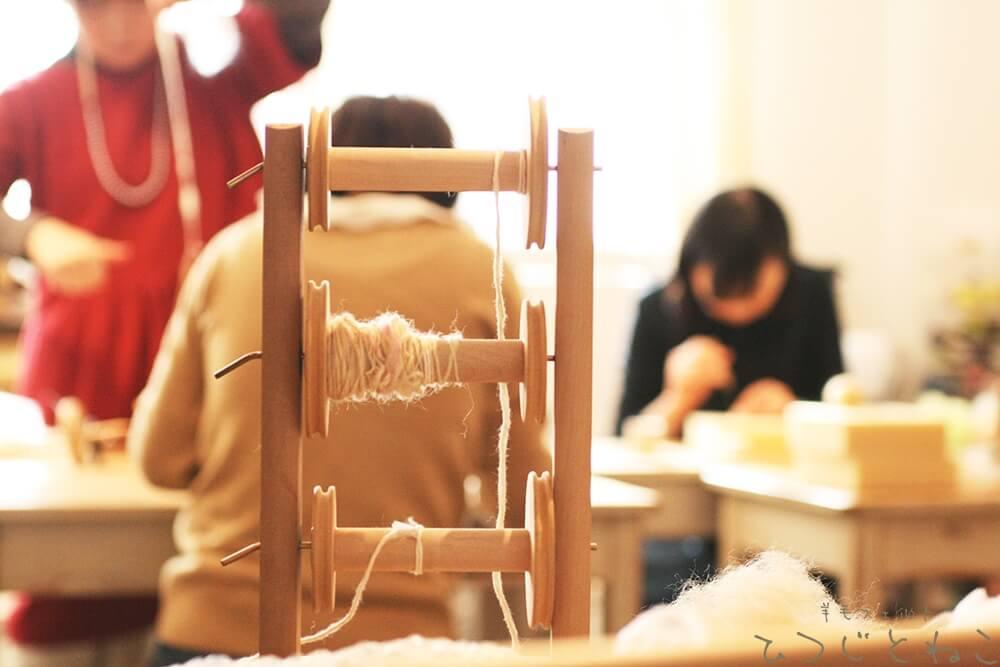 羊毛フェルト教室